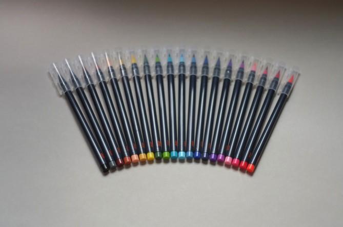 NIJI Brush Pens