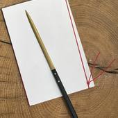 New! Shinba paper knife. . #brass #paperknife #japanesecraft