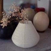 Soon online! Paper vase Kakurekami . #shopu #papervase #craft #花瓶