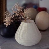 New! Kakurekami paper vase . #washi #papervase #japanesecraft
